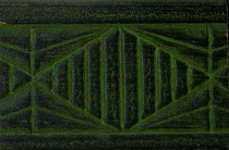 Pinturas Fayma Verde pistacho patinado sobre negro Moldura MB 209