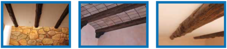 Vigas a medidas de maderas y poliuretano